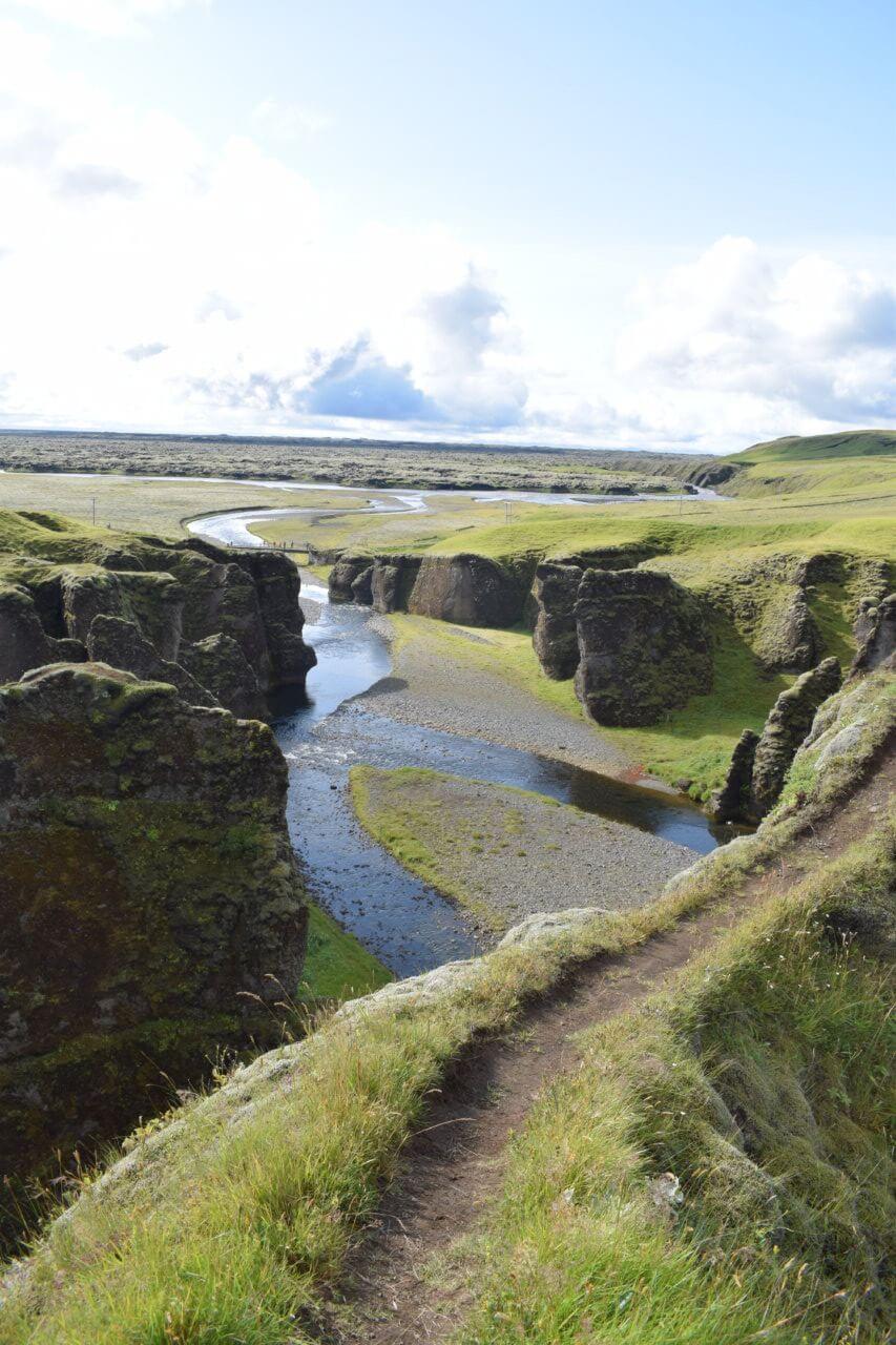 Fjaðrárgljúfu 1